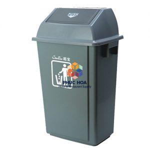 Thùng rác công cộng B013 (58L)