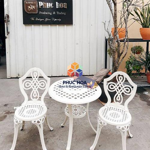 Bàn ghế ban công chung cư ngoài trời FY-063ZX