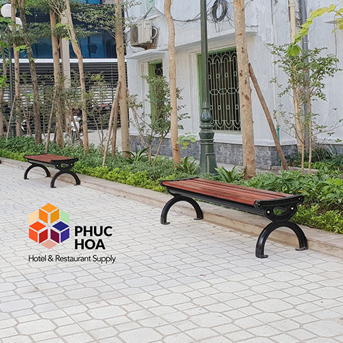Ghế công viên gỗ PH-004