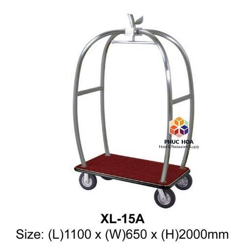xe đẩy hành lý khách sạn XL-15A