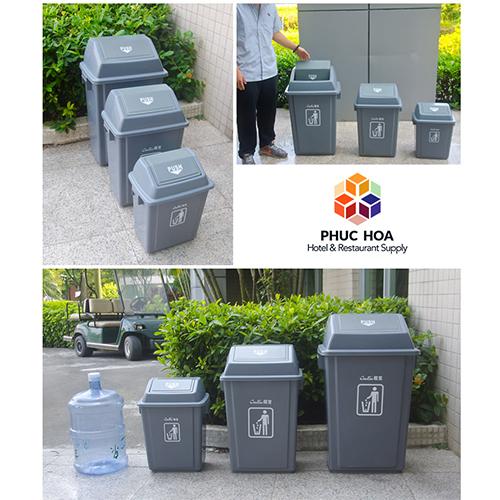Thùng rác công cộng bằng nhựa