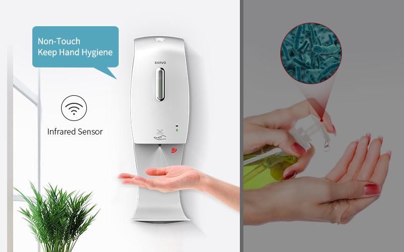 máy rửa tay sát khuẩn tự động SVAVO