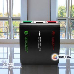 Thùng rác 3 ngăn MAX-SN206