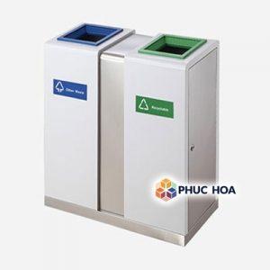 Thùng rác tái chế 2 ngăn MAX-SN284