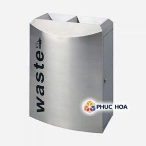 Thùng rác tái chế MAX- SN155 hình vòng cung